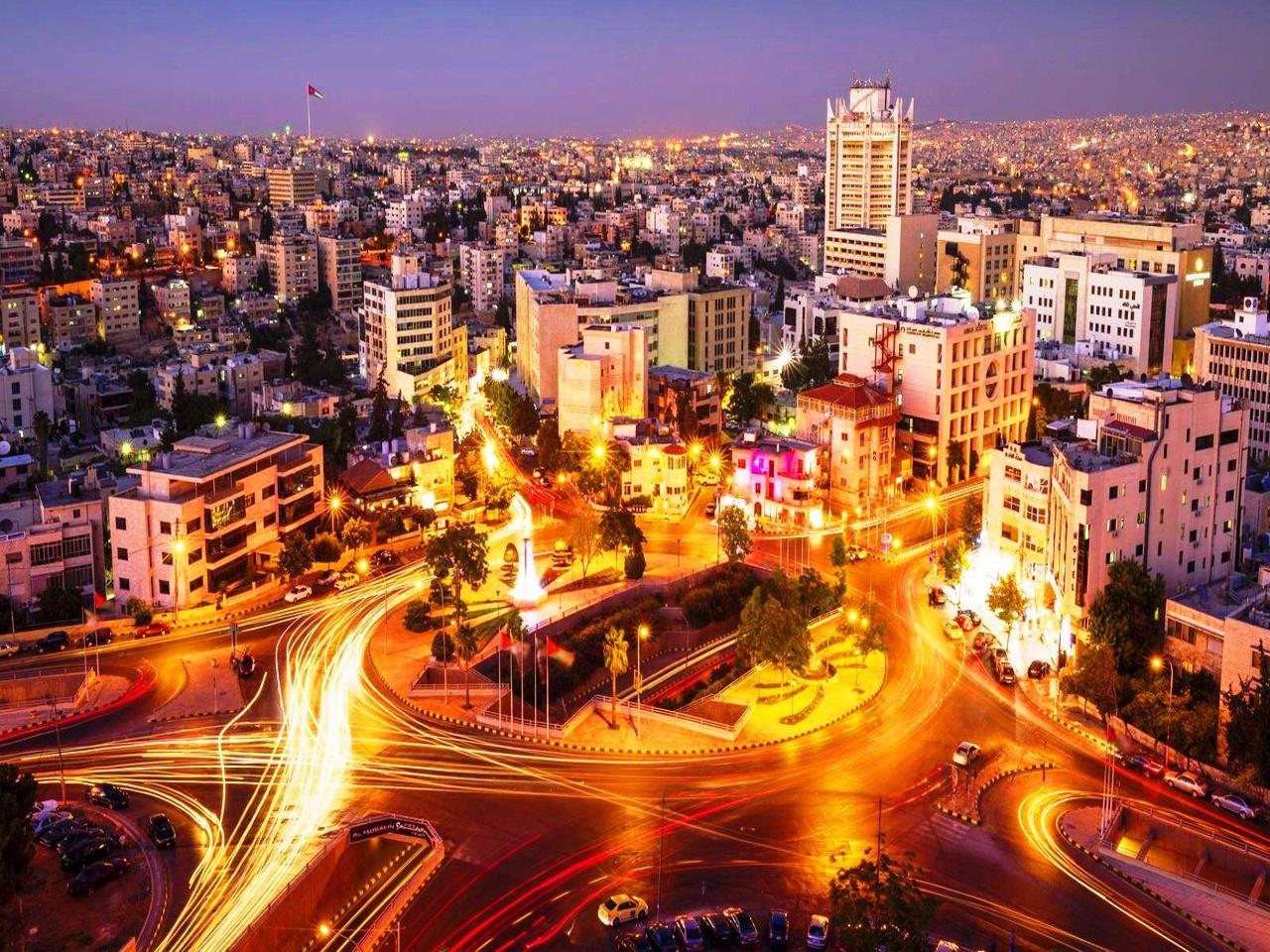 Города Иордании - Амман