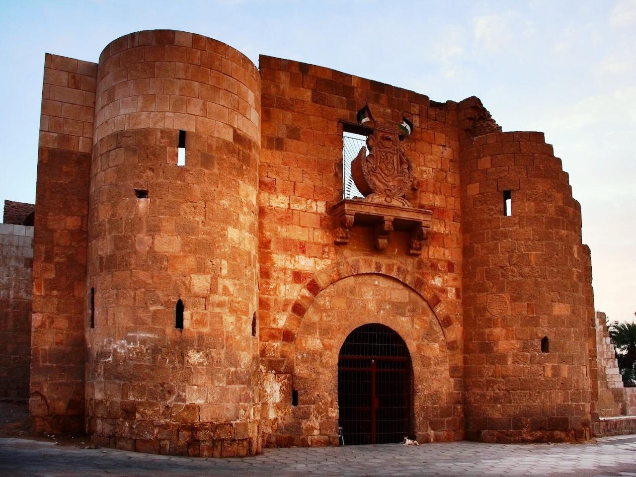Мамлюкский форт — Акаба, Иордания