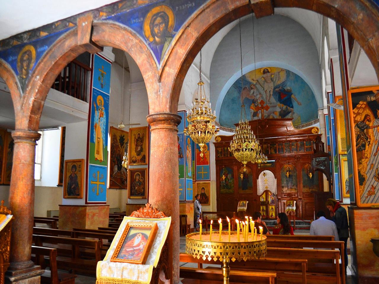 Церковь Святого Георгия. Мадаба
