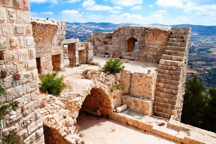 Города Иордании - Аджлун