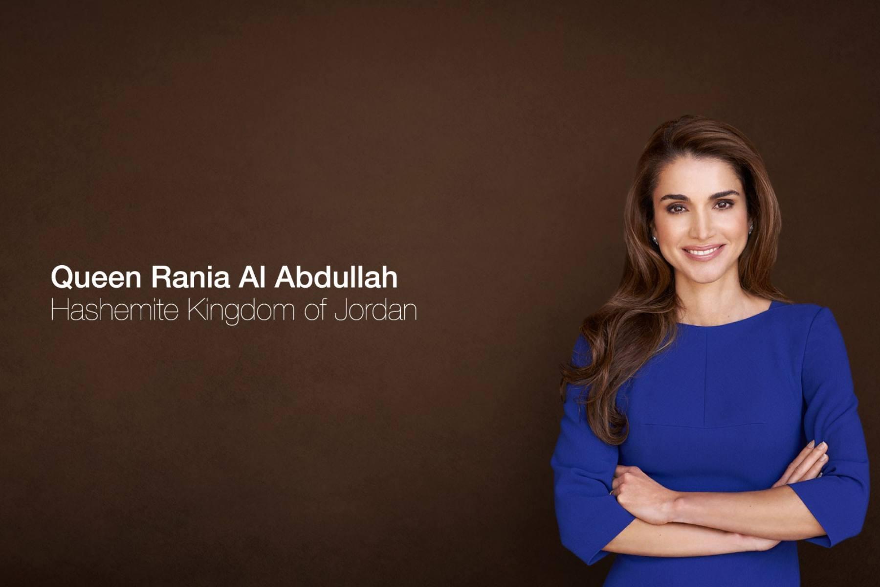 Королева Иордании-Рания аль-Абдулла