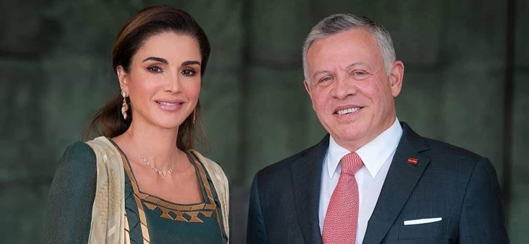 Король и Королева Иордании