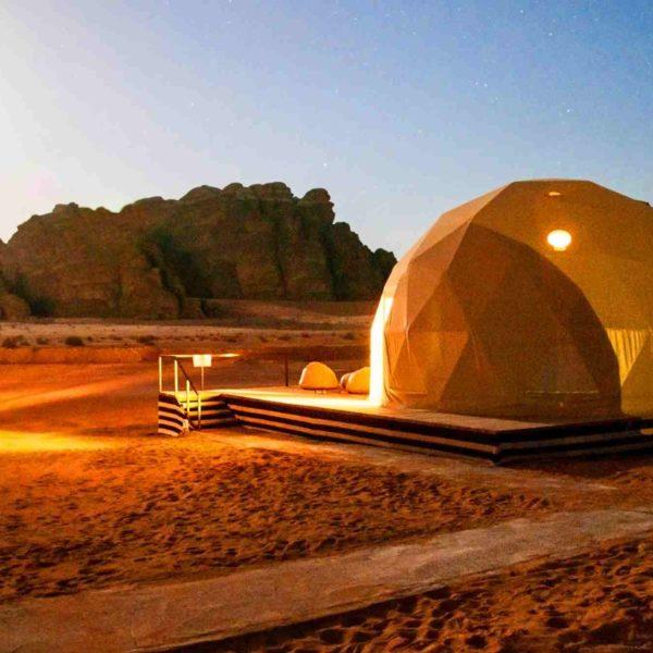 PETRA палатки в Вади Рам